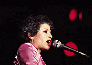 Janis Ian - Ian performing at the National Stadium Dublin, Ireland May 14, 1981