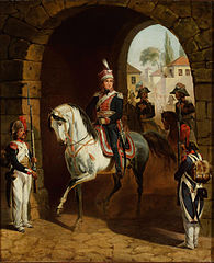 Entry of General Jan Henryk Dąbrowski into Rome.