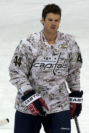 Jason Arnott - Jason Arnott as a member of the Washington Capitals in 2011.