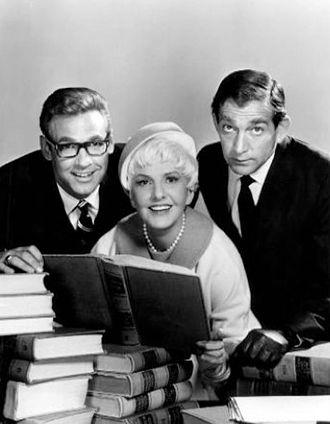 The Jean Arthur Show - L-R: Ron Harper, Jean Arthur and Leonard Stone