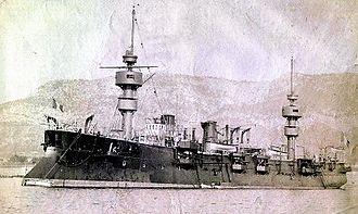 French ship Jean Bart - Image: Jean Bart cruiser 2