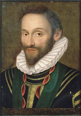 Jean Louis de Nogaret de La Valette - Portrait of Nogaret de La Valette by an unknown painter