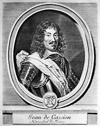 Jean de Gassion, gravure de Gérard Edelinck