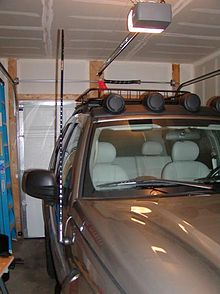 Jeep Liberty/Electrical/CB Radio/Upgraded CB Antenna ...