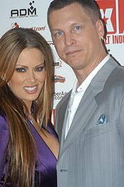 With former husband Jay Grdina, at the XBiz awards, November 2005