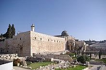 Al Aqsa Mosken I Jerusalem Bygd Lpet Av Abd Malik Kalifatet