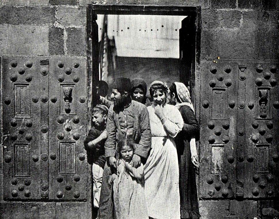Jewish House In Tiberias, 1893
