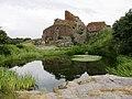 Jeziorko Lille Dam przy Bramie Głównej zamku - panoramio.jpg