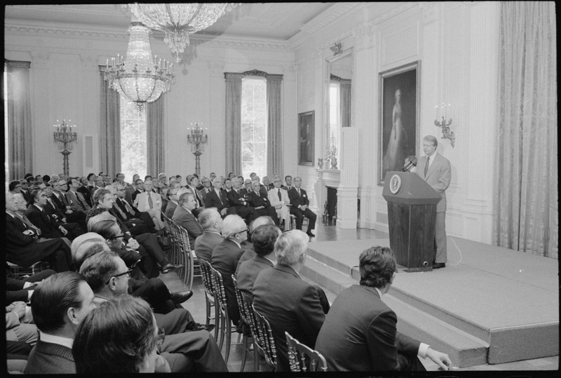 File:Jimmy Carter hosts Trilateral Commission Meeting - NARA - 179812.tif