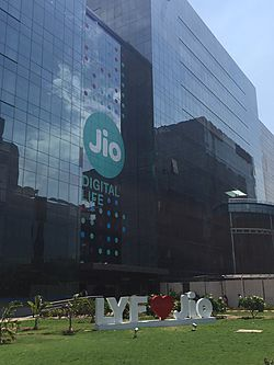 Jio's headquarters in RCP, Navi Mumbai