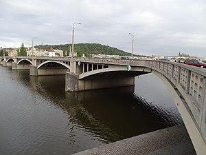Jirásek Bridge - The bridge in 2015