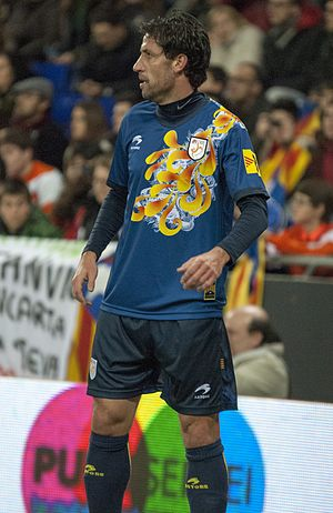 Joan Capdevila - Capdevila in action for Catalonia in 2013