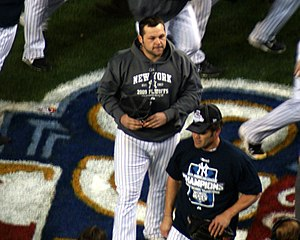 Joba Chamberlain - Chamberlain during the 2009 ALCS