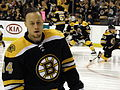 Joe Corvo of the Boston Bruins at TD Garden, Boston, Massachusetts - 20120204.jpg