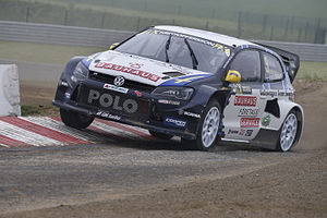 2015 World RX of Belgium - Johan Kristoffersson finished as top qualifier.