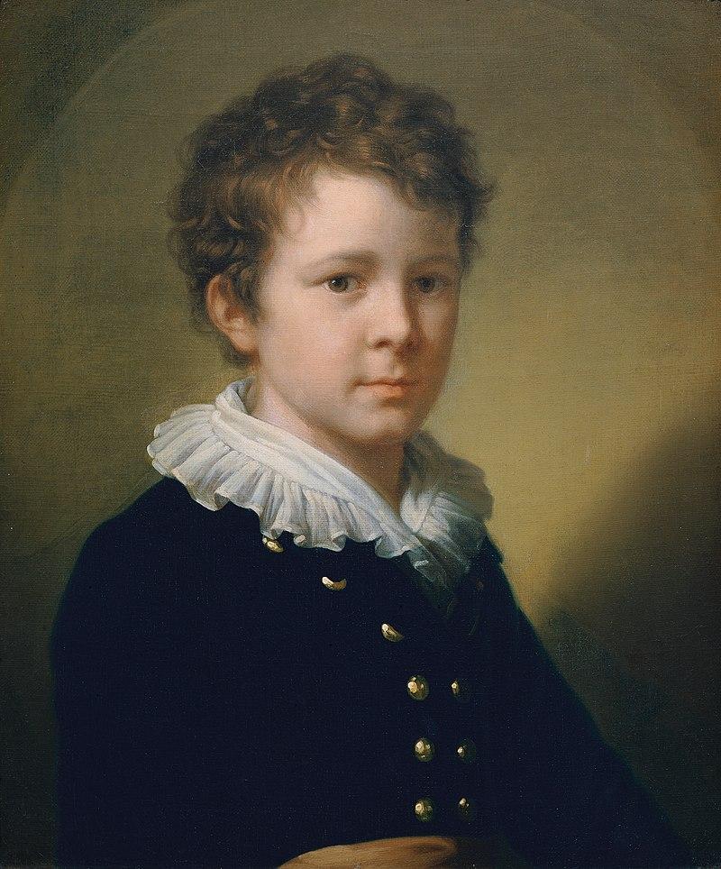 Johann Baptist Lampi d. Ä. - Johann Baptist Lampi, ein Enkel des Künstlers - 4723 - Österreichische Galerie Belvedere.jpg