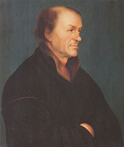 Portrait of Johann Froben after Hans Holbein the Younger