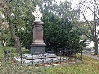 Johann Gottfried Seume - Memorial in Teplice