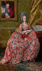 Portrait of the Archduchess Maria Amalia of Austria, Duchess of Parma