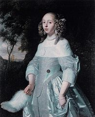 Portrait of Jeanne Parmentier, 1634-1710, wife of Louis de Geer