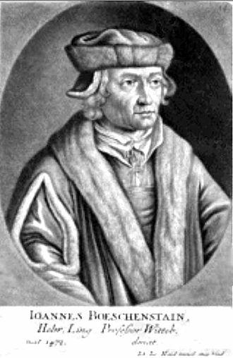 Johannes Böschenstain