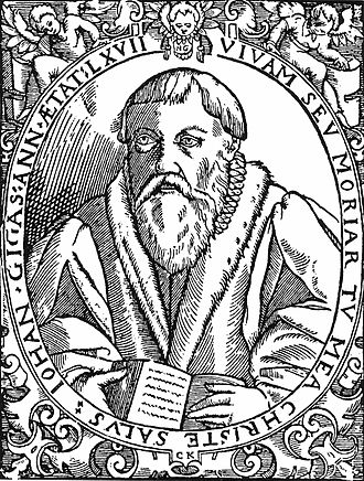 Ach, lieben Christen, seid getrost, BWV 114 - Johannes Gigas, the author of the hymn