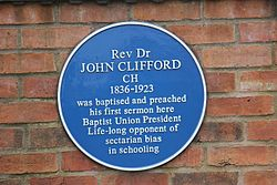 John clifford plaque