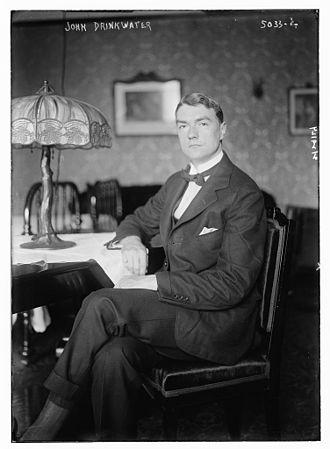 John Drinkwater (playwright) - Image: John Drinkwater in 1919