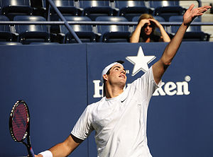 Isner–Mahut match at the 2010 Wimbledon Championships - Image: John Isner at the 2009 US Open 01