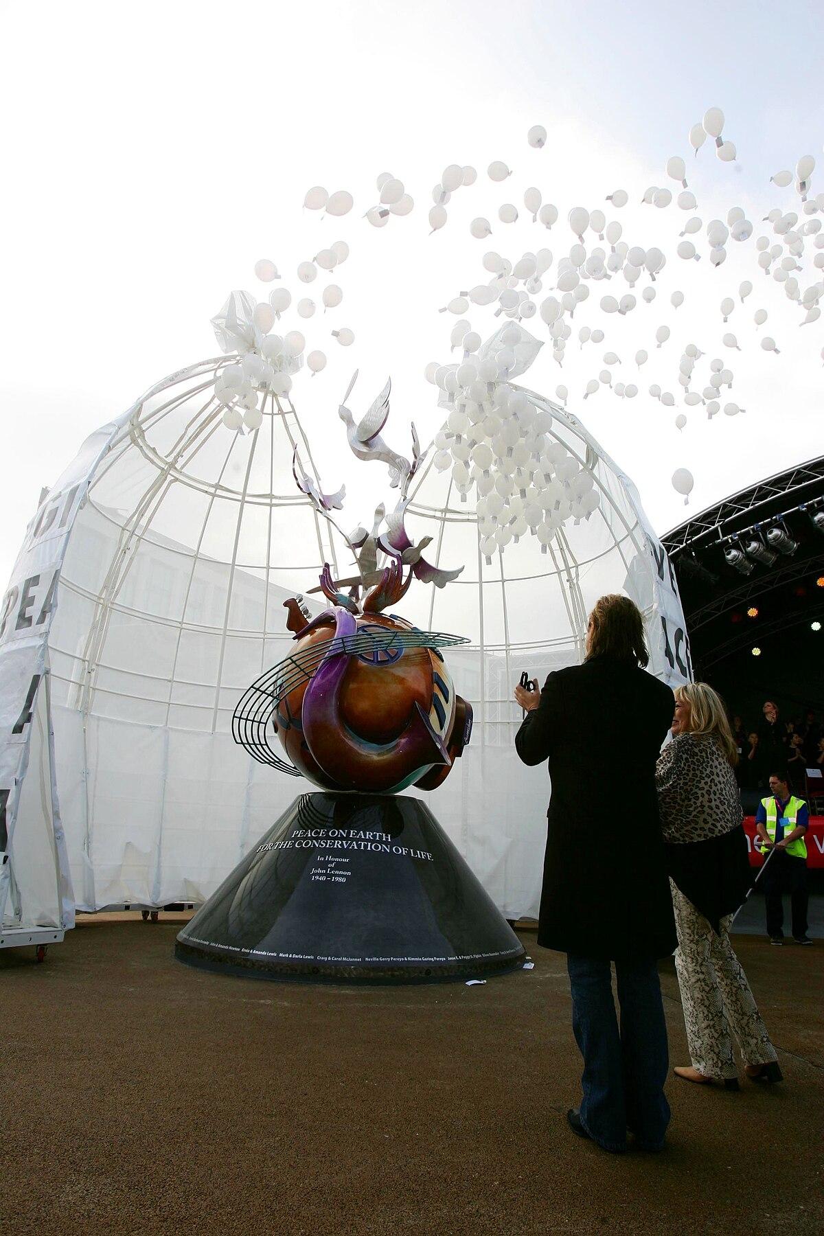 John Lennon Peace Monument - Wikipedia
