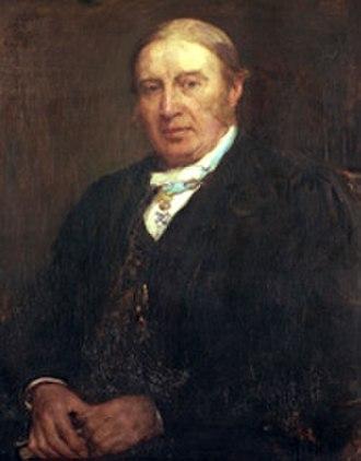 John Pentland Mahaffy - Portrait by Walter Osborne (ca. 1918)