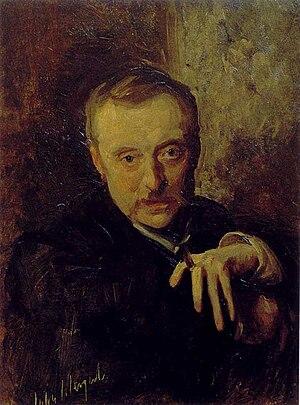 Antonio Mancini - Antonio Mancini, John Singer Sargent, c.1898