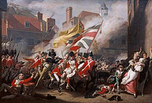 Battle of Jersey - Death of Major Peirson
