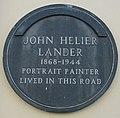 John St Helier Lander plaque Saint Helier.jpg