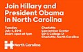 Join Hillary and President Obama in North Carolina.jpg