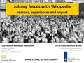 Joining forces with Wikipedia reasons, experiences and impact - Sharing is Caring BrusselX - 20 June 2017.pdf