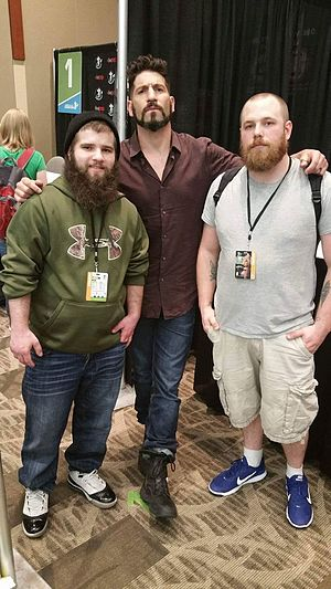 Jon Bernthal - Bernthal with fans at the Emerald City Comicon in April 2016