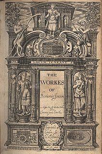Ben Jonson folios