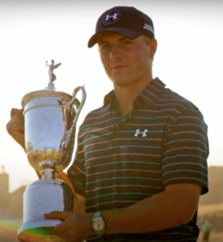 Jordan Spieth after winning the 2015 U.S. Open.png