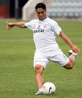 Cássio Oliveira - Cássio training with Adelaide United in 2007