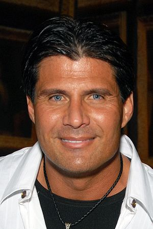 English: Jose Canseco attending the Birthday P...
