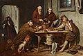 Josef Danhauser - Die Klostersuppe - 2088 - Österreichische Galerie Belvedere.jpg