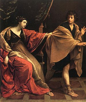 Joseph and Potiphar's Wife (painting by Guido ...
