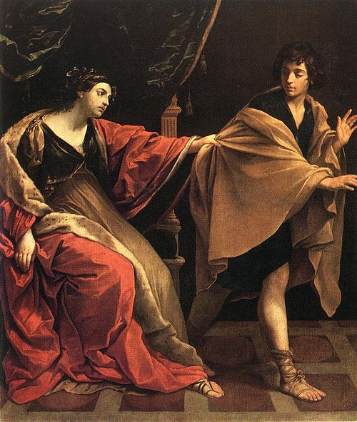 1631年油画Joseph and Potiphar's Wife