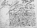 Juan Cabral de Melo, Asiento Inglaterra.jpg