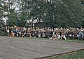 Juhla Kansallismuseon pihalla - XLVIII-919 - hkm.HKMS000005-km0000m2kb.jpg