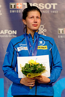 Julia Beljajeva fencer