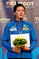 Julia Beljajeva podium 2013 Fencing WCH EFS-IN t214546.jpg