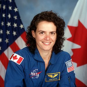 Julie Payette - Payette's official portrait from STS-96.