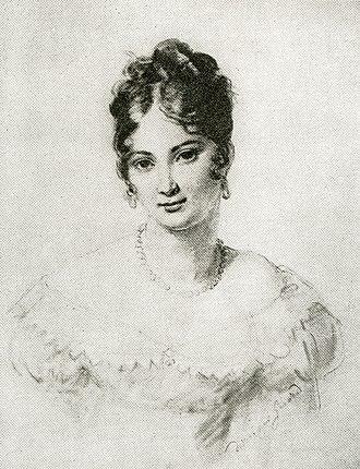 Juliette Récamier - Image: Juliette Récamier, en 1805